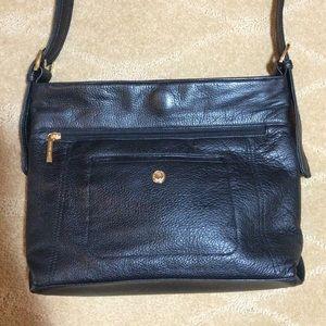 Stone & Co. Black Leather Shoulder Bag